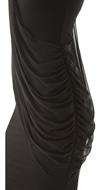 AIR by alice + olivia Crossover Drape Dress