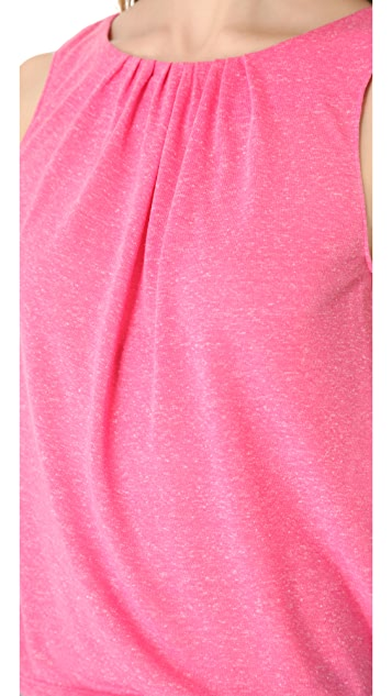 AIR by alice + olivia Gathered Neck Tank