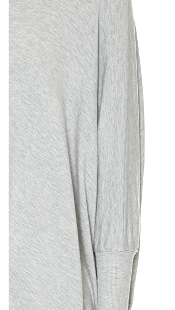 AIR by alice + olivia Boat Neck Rectangle Tee