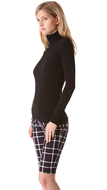 AIR by alice + olivia Long Sleeve Basic Turtleneck