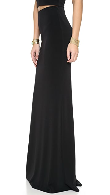 AIR by alice + olivia High Waist Maxi Skirt