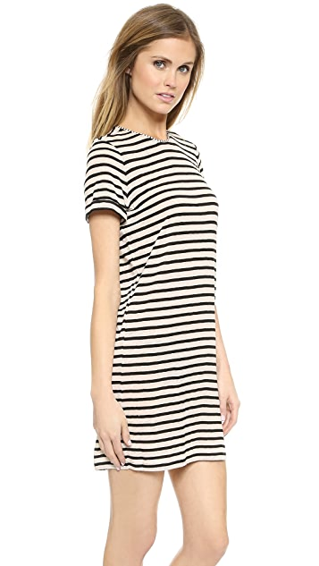 AIR by alice + olivia Roll Sleeve Tunic Dress
