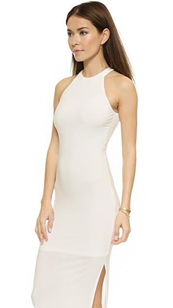 AIR by alice + olivia Open Back Slim Dress
