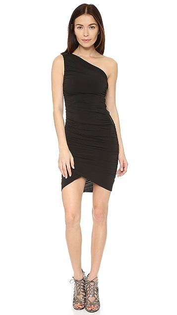 AIR by alice + olivia Deedee One Shoulder Dress
