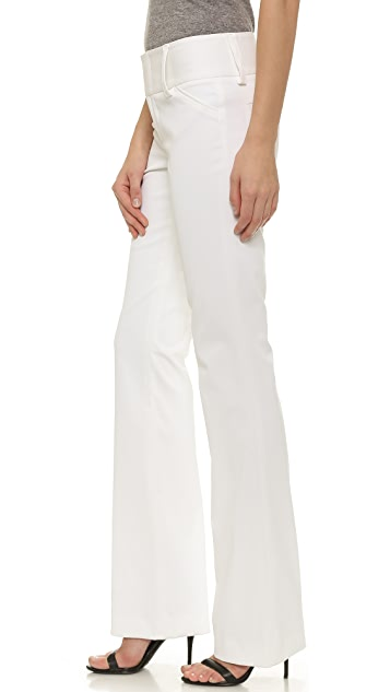 alice + olivia Olivia Wide Waistband Pants