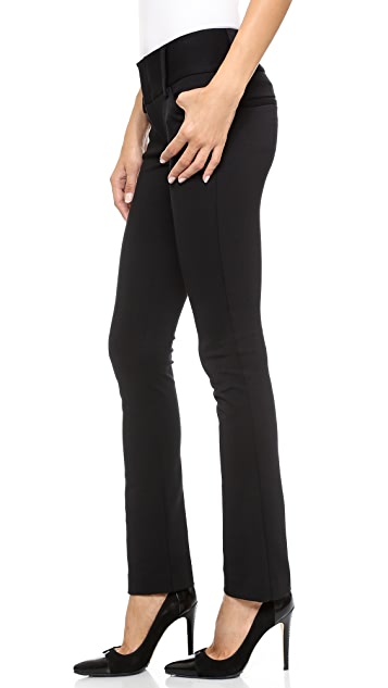 alice + olivia Andrew Wide Waistband Pants