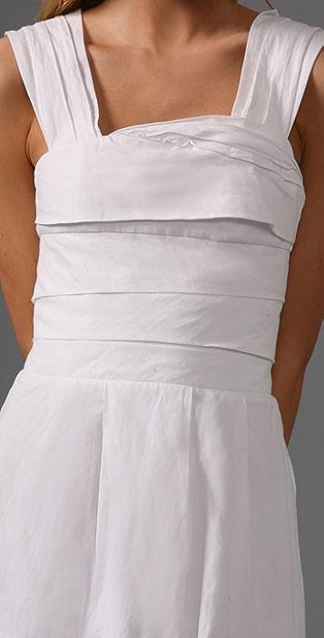 alice + olivia Origami Fold Dress