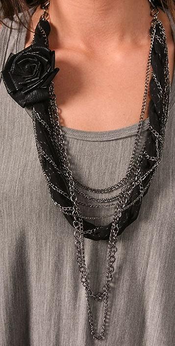 alice + olivia Parker Tank Dress with Necklace