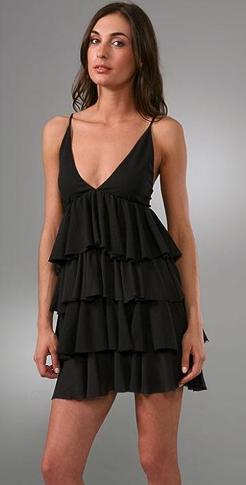 alice + olivia Laura Layered Dress