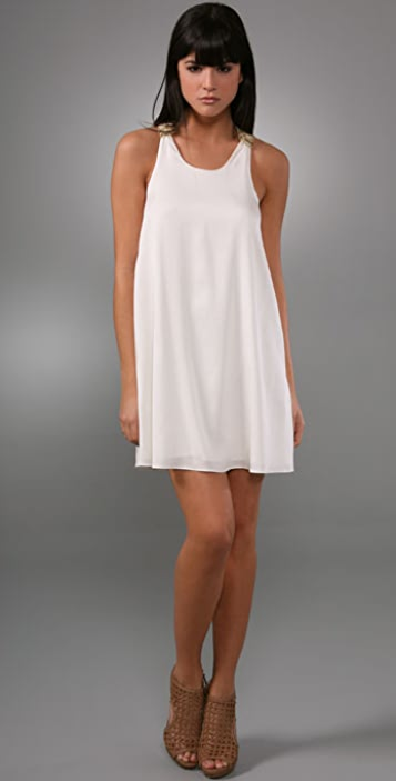 alice + olivia Tilly Triple Knot Dress