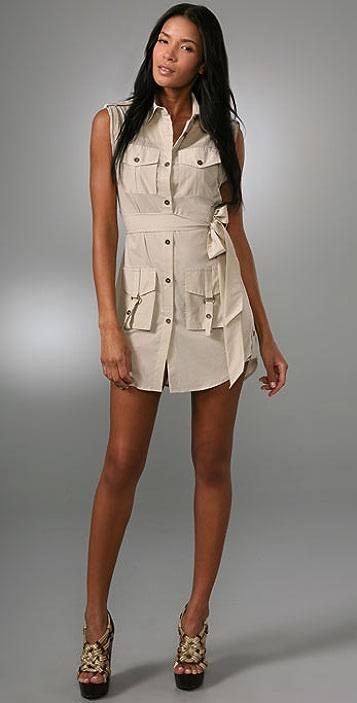 alice + olivia Harper Safari Dress