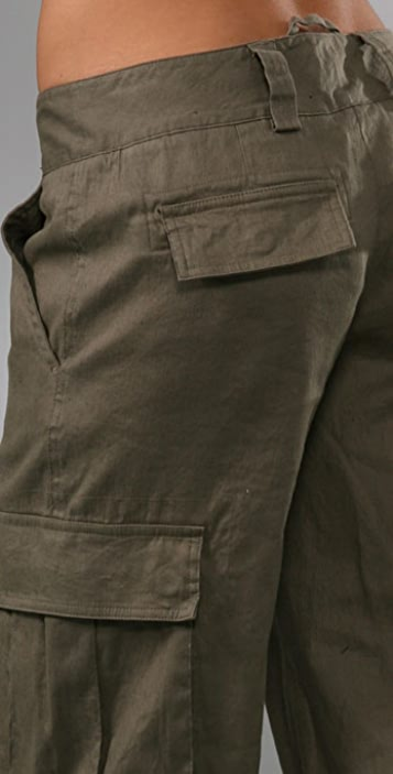 alice + olivia Congo Banded Cargo Pants