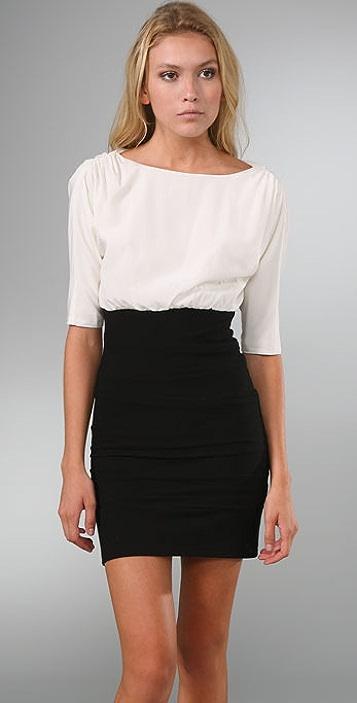alice + olivia Dolman Sleeve Dress