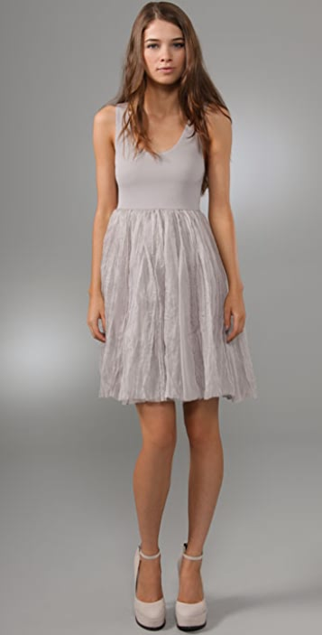 alice + olivia Dress with Organza Skirt