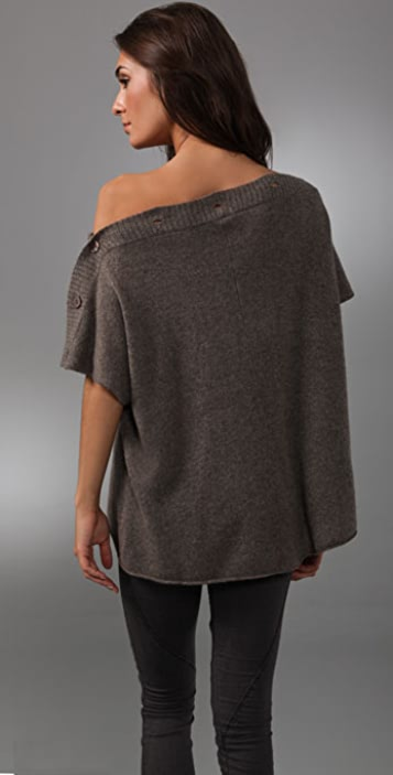 alice + olivia Cashmere Stacey Convertible Shrug