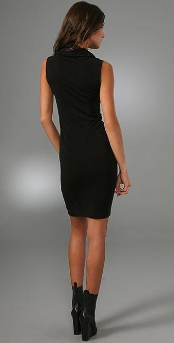 alice + olivia Sleeveless Cowl Neck Dress