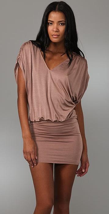 alice + olivia Stapen Drop Waist Dress
