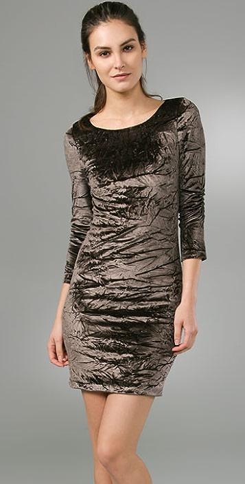 alice + olivia Velvet Tabitha Dress