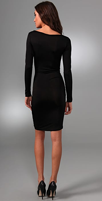 alice + olivia Viola Long Sleeve Dress