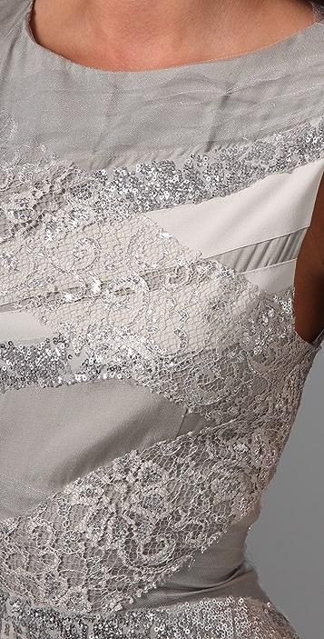 alice + olivia Vanda Bandage Shift Dress