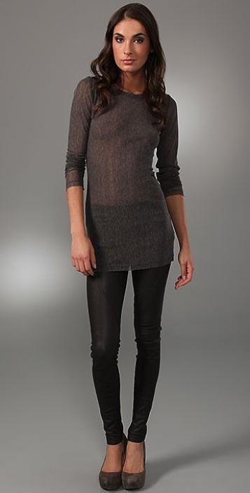 alice + olivia Baylor Long Sleeve Top