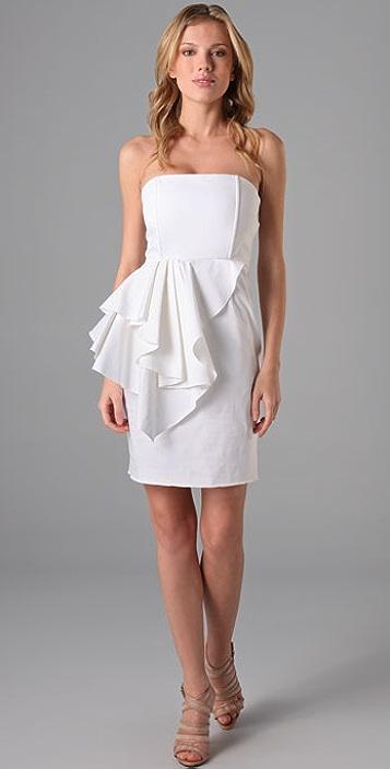 alice + olivia Reese Peplum Dress