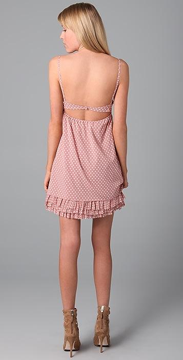 alice + olivia Lulu Polka Dot Dress