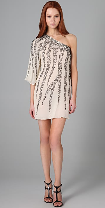 alice + olivia Kira Beaded Dress