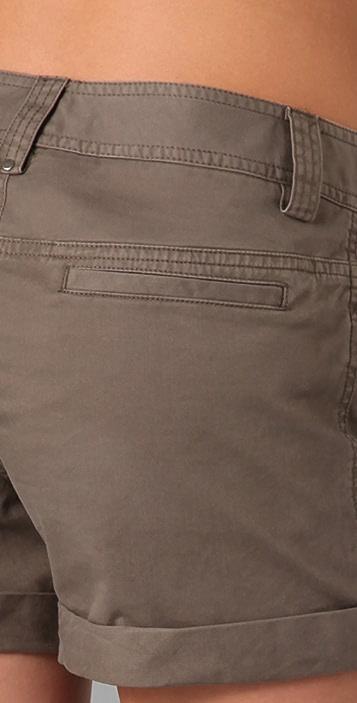 alice + olivia Combo Cuff Shorts