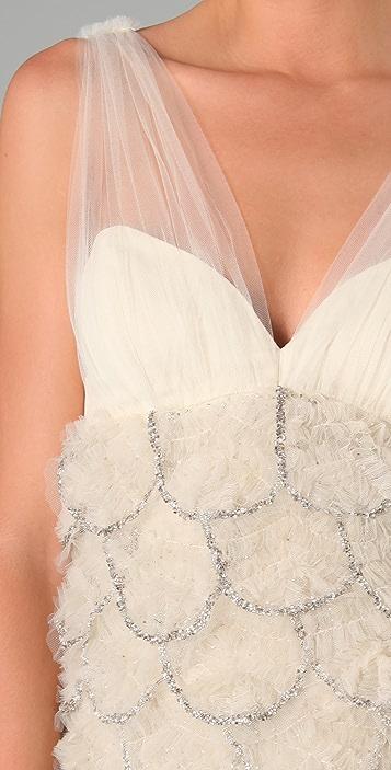 alice + olivia Brianne Embellished Dress