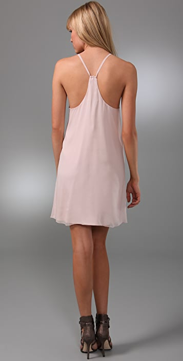 alice + olivia Fierra Y Back Dress