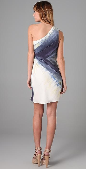 alice + olivia Bree One Shoulder Dress