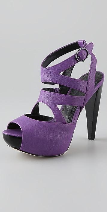 alice + olivia Lila Platform Sandals