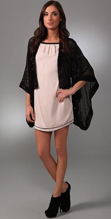 alice + olivia Beaded Long Sleeve Jacket