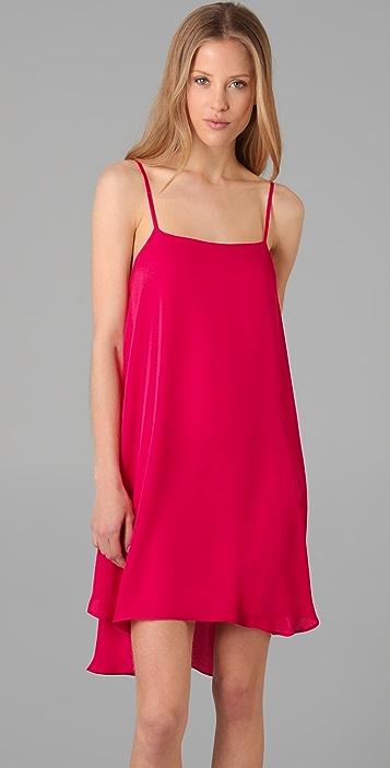 alice + olivia Cammie Trapeze Slip Dress