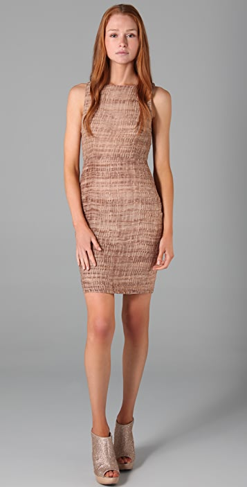 alice + olivia Ginger Fitted Dress