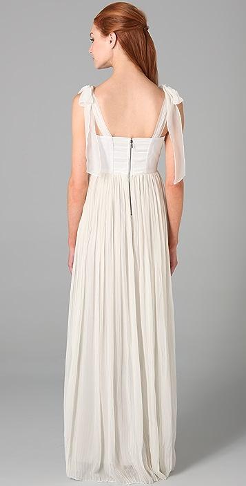 alice + olivia Marianna Long Dress