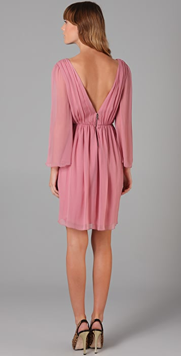 alice + olivia Conry Bell Sleeve Dress
