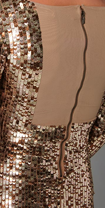 alice + olivia Breck Sequin Dress