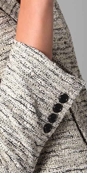alice + olivia Amelia Tweed Jacket