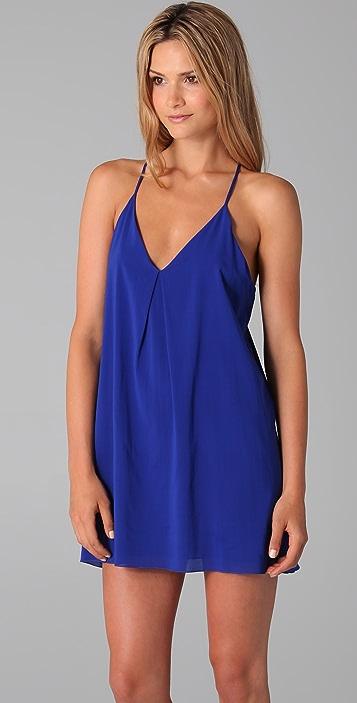 alice + olivia Fierra T Back Dress