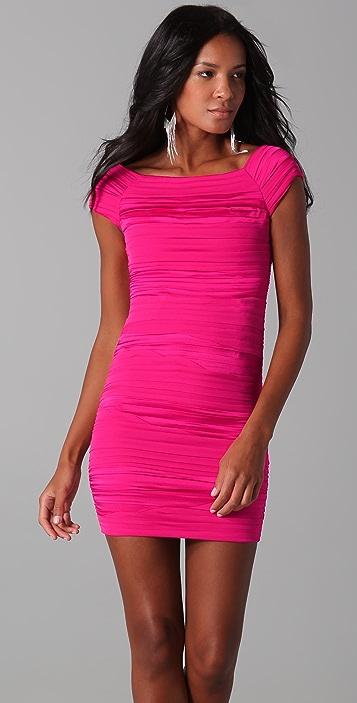alice + olivia Soleil Ruched Dress