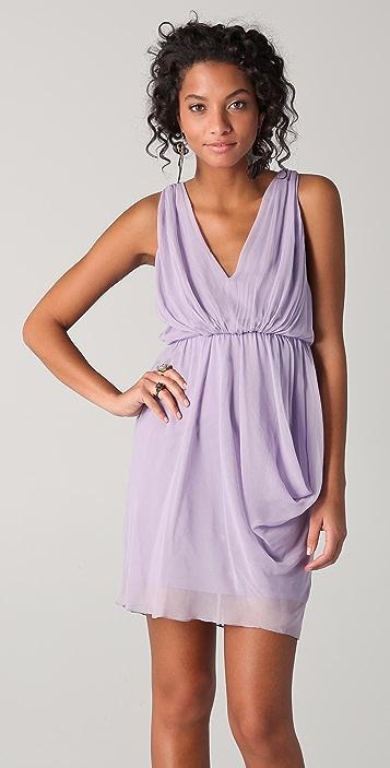 alice + olivia Side Drape Dress