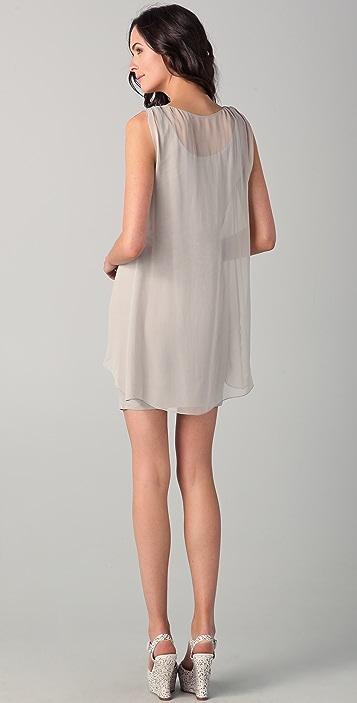 alice + olivia Cross Front Dress