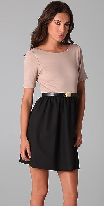 alice + olivia Amber Combo Dress