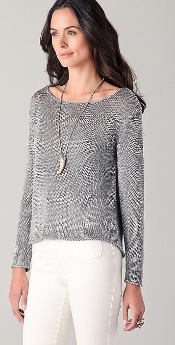 alice + olivia Cary Boxy Sweater