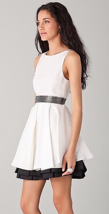 alice + olivia Everly Poof Skirt Dress