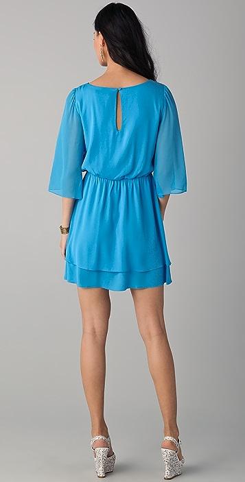 alice + olivia Petunia Bell Sleeve Dress