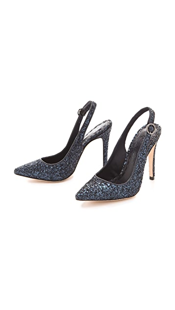 alice + olivia Darcy Sling Back Pumps