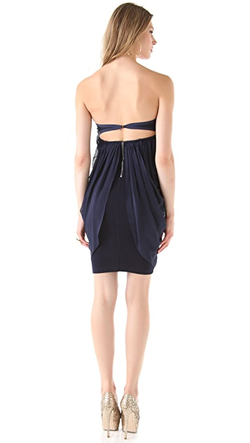 alice + olivia Jemma Bustier Dress